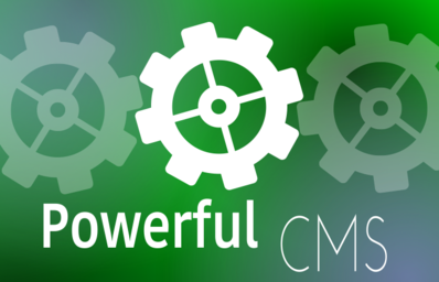 Powerful CMS